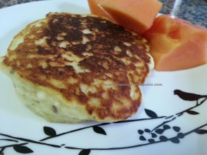 Baby Friendly Banana Pancakes